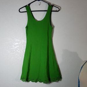 Tower Medium green tank dress